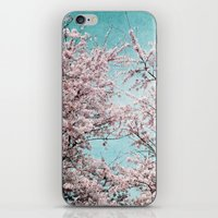 sakura iPhone & iPod Skins featuring Sakura by Iris Lehnhardt