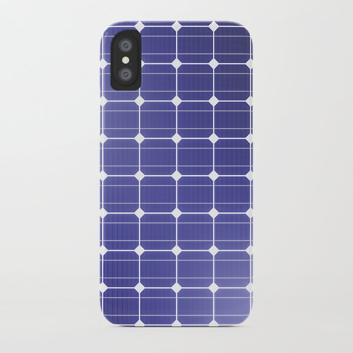 outlet store 22e6d 546de In charge / 3D render of solar panel texture iPhone Case by grandeduc