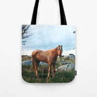 sam smith Tote Bags featuring Sam by Kathrin Legg