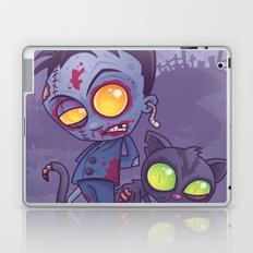 Pet Cemetery: Zombie Boy and his Zombie Cat Laptop & iPad Skin