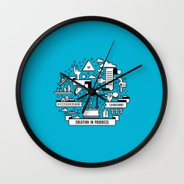 Creation in progress Wall Clock