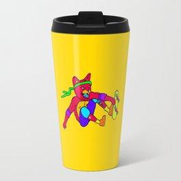 Skate Cat Travel Mug