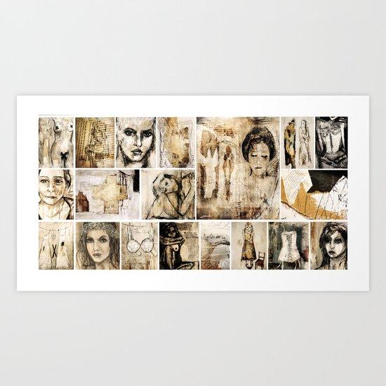 little collection Art Print