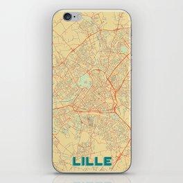 Lille Map Retro iPhone Skin