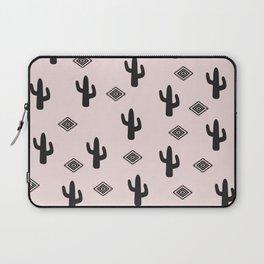Blush Urban Cactus Laptop Sleeve