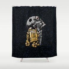 Daft Droids Shower Curtain