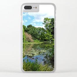 Le Parc de Bagatelle Clear iPhone Case