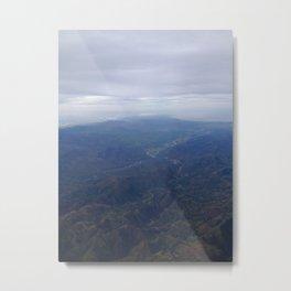 Ridges. Metal Print