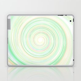 Re-Created Spin Painting No. 51 by Robert S. Lee Laptop & iPad Skin