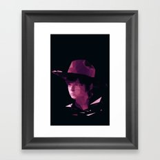 Carl Grimes - The Walking Dead Framed Art Print