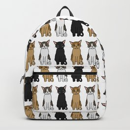 Cute Cats Illustration Backpack