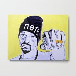 Snoop Dog Metal Print