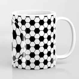 Black and White 3D Ball pattern deign Coffee Mug
