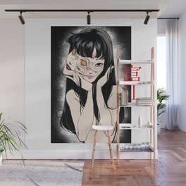 Tomie Junji Ito Minimalist anime Poster  Wall Mural