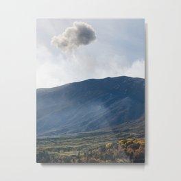 Mount Etna landscape, Sicily, Italy Metal Print