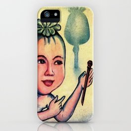 The Opium Eater iPhone Case