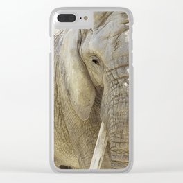 Elephant Photography | Wildlife Art | African | Nature | Animal Clear iPhone Case