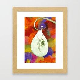 The Dryad Framed Art Print