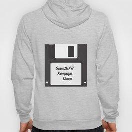 90s Video Games Diskette Hoody