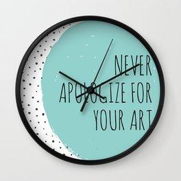 art. Wall Clock