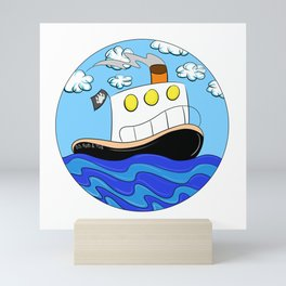 Rub N Tugboat- BEAR Mini Art Print