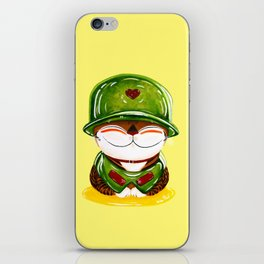 Soldier of Love iPhone Skin