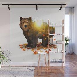 Equinox   Bear Wall Mural