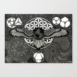Earth Ascension, Sacred Knowledge Canvas Print