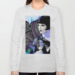 Louise Brooks:  We'll Always Have Paris Long Sleeve T-shirt