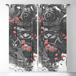 Sleeve tattoo Samurai Irezumi Blackout Curtain