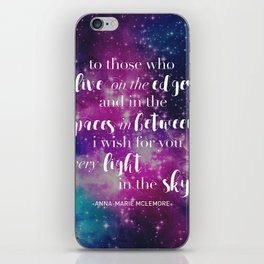 I wish for you every light in the sky iPhone Skin