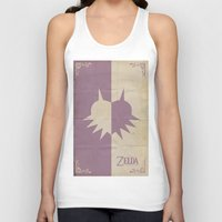 majoras mask Tank Tops featuring Majoras Mask by cbrucc