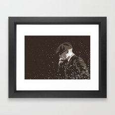 Peaky Framed Art Print