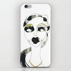 I dont care iPhone & iPod Skin