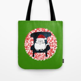 My Cat at Christmas Tote Bag