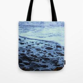 Waves on the Beach Photography Print Tote Bag