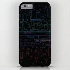 City 24 (Colour) iPhone 6 Plus Slim Case