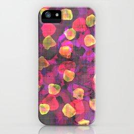 Lysergic Primavera iPhone Case