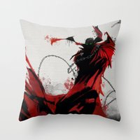 spawn Throw Pillows featuring Spawn by Scofield Designs