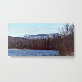 Mont Albert in the Spring Metal Print