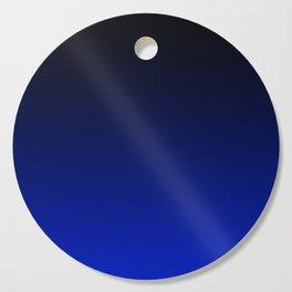 Black and Dark Blue Gradient 061 Cutting Board