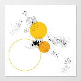 Absorption I Canvas Print