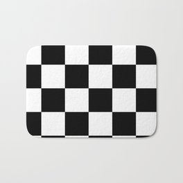 checker Bath Mat