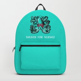 Nerdy Octopus Print: Sucker for Science Backpack