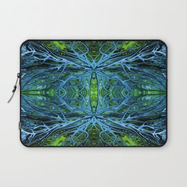 Emerald Electrigrass by Chris Sparks Laptop Sleeve
