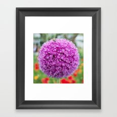 Flower (Love) Framed Art Print