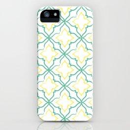 Alhambra Tile Pattern iPhone Case