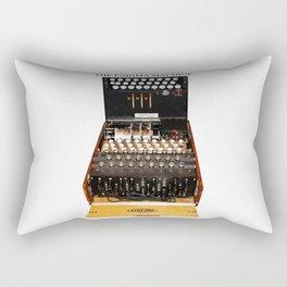 The Secret Code Machine Rectangular Pillow
