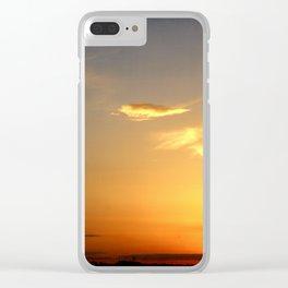 Sunset 041417 Abilene, Texas Clear iPhone Case