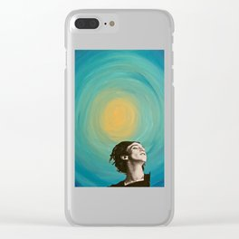 Seeing the Light in an Increasingly Dim World Clear iPhone Case
